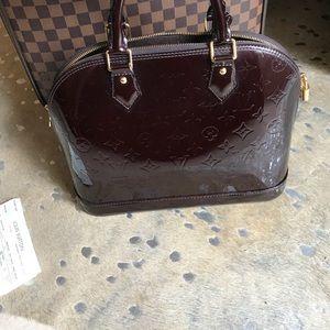 Authentic Louis Vuitton Alma Amarante